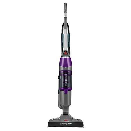 8. Bissell Symphony Pet All-in-One Vacuum And Steam Mop 1543A