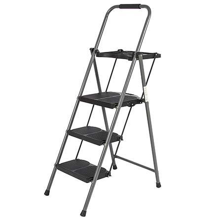 8.Best Choice Products Shade 3 Step Ladder Platform