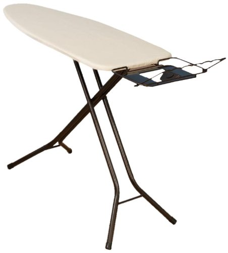 9. Household Essentials Extra Wide Top 4-Leg Ironing Board