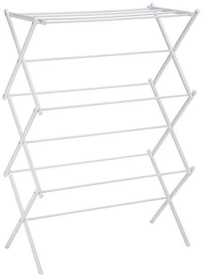 1. AmazonBasics - Best Drying Rack