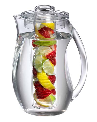 10. Jumbl Tea Infuser Water Pitcher