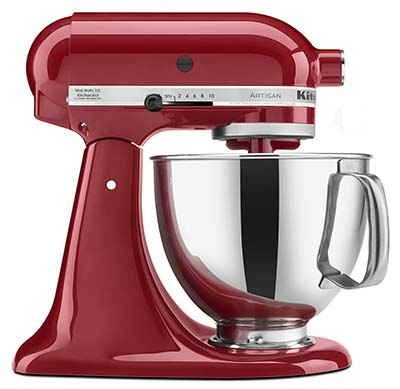 2. KitchenAid Artisan Tilt-Head Mixer (KSM150PSER)