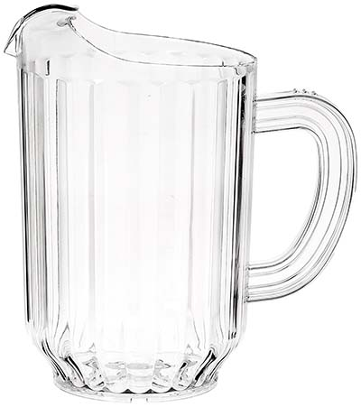 5. New Star Foodservice 46106 Polycarbonate Pitcher