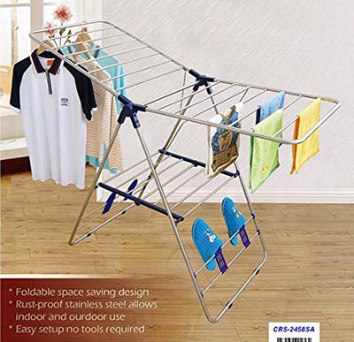 6. CRESNEL Heavy Duty Drying rack