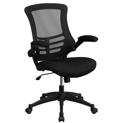 6. Flash Furniture Mid Back Swivel Task Chair