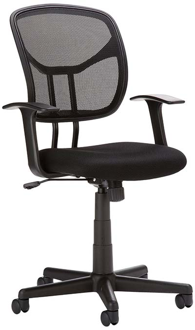 7. AmazonBasics Mid back Mesh Chair