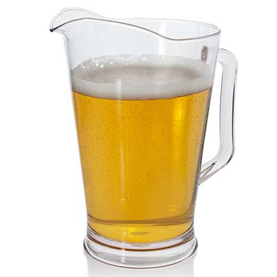 8. US Acrylic Restaurant Water and Beer Pitcher