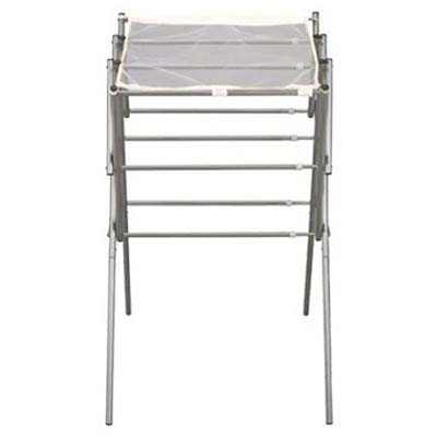9. Household Essentials Collapsible Drying Rack