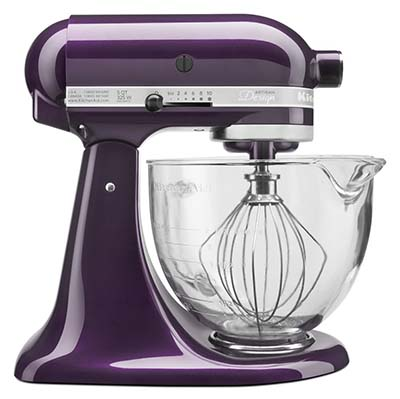 9. KitchenAid KSM155GBPB 5-QT