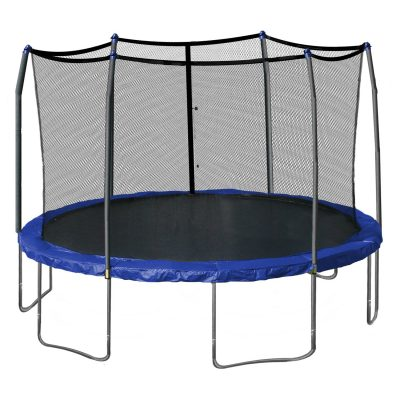 1. Skywalker Round Trampoline (15-Feet)