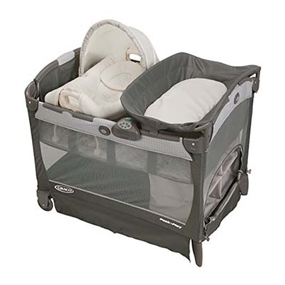 1. Graco Glacier Playard Bassinet