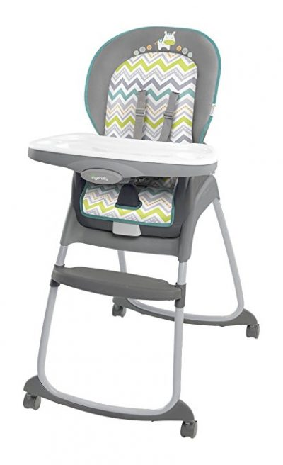 10. Ingenuity Grey Ridgedale High Chair (Trio 3-in-1)