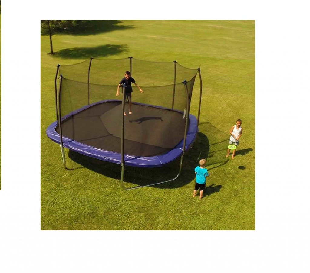10. Skywalker Square Trampoline (13')