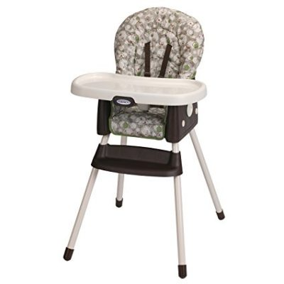 3. Graco Zuba Simpleswitch High Chair & Booster