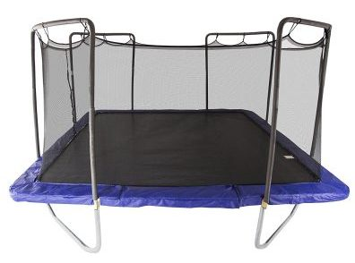 5. Skywalker 15-Feet Square Trampoline