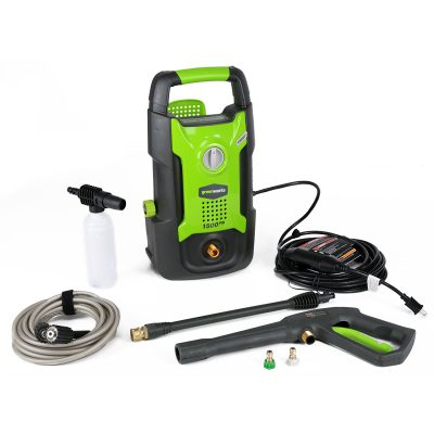 5. GreenWorks 13 amp Electric Pressure Washer (GPW1501)