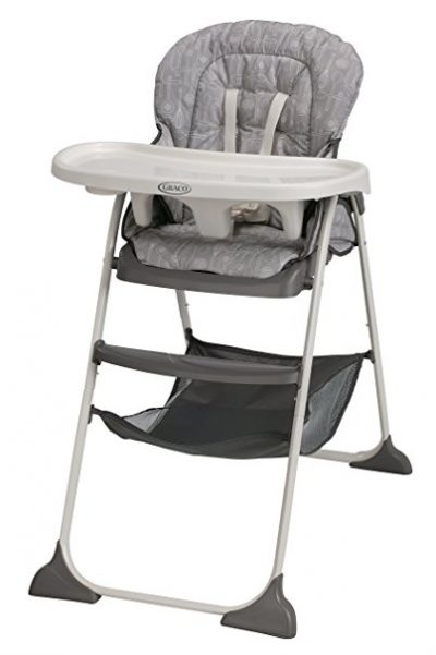 6. Graco Whisk High Chair (Slim Snacker)
