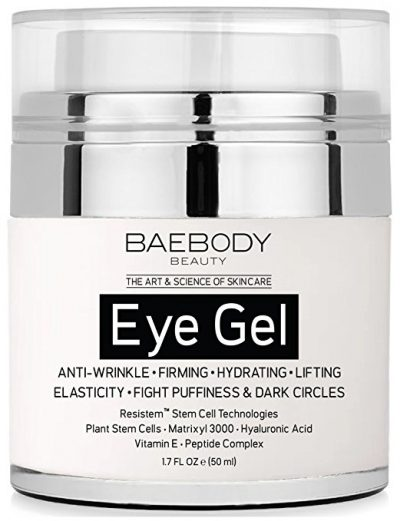 6. Baebody Eye Gel for Dark Circles, Puffiness, Wrinkles and Bags