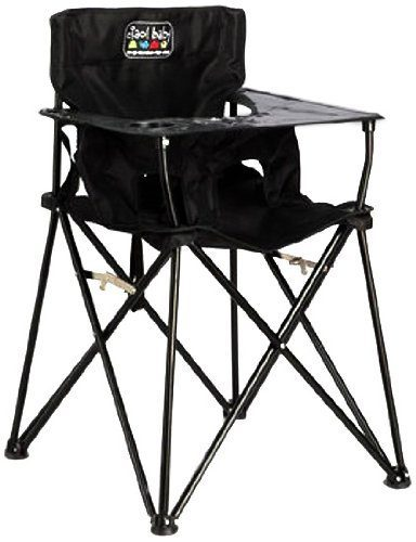 7. ciao! baby Black Highchair