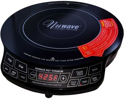 7.  NuWave PIC Portable Induction Cooktop Countertop Burner