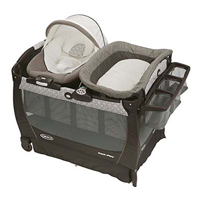7. Graco Abbington Playard Bassinet
