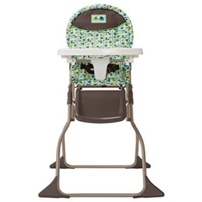 8. Cosco Elephant Squares High Chair (Simple Fold)