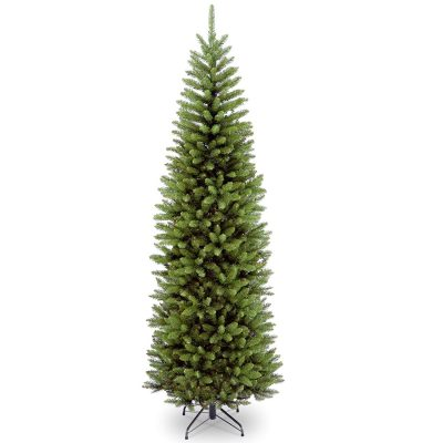 2- National Tree 7.5 Foot Kingswood Fir Pencil Tree (KW7-500-75) - Best artificial Christmas trees