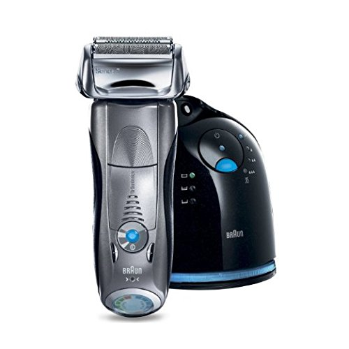 3. Braun Series 7 790cc Cordless Electric Foil Shaver for Men with Clean and Charge Station