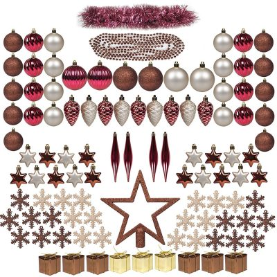 ITART 100ct Christmas Tree Ornaments