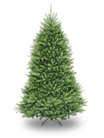 6- National Tree 7.5 Foot Dunhill Fir Christmas Tree, Hinged (DUH-75)