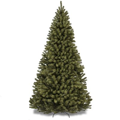 8- 7.5' Premium Spruce Hinged Artificial Christmas Tree W/ Stand (SKY2887)