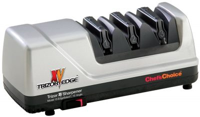 3. EdgeCraft Gray 3-Stage Electric Knife Sharpener (15 XV Trizor)