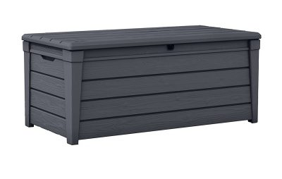 1. Keter Brightwood Outdoor Garden Patio Storage