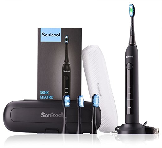 1. Sonicool Sonic Electric Toothbrush
