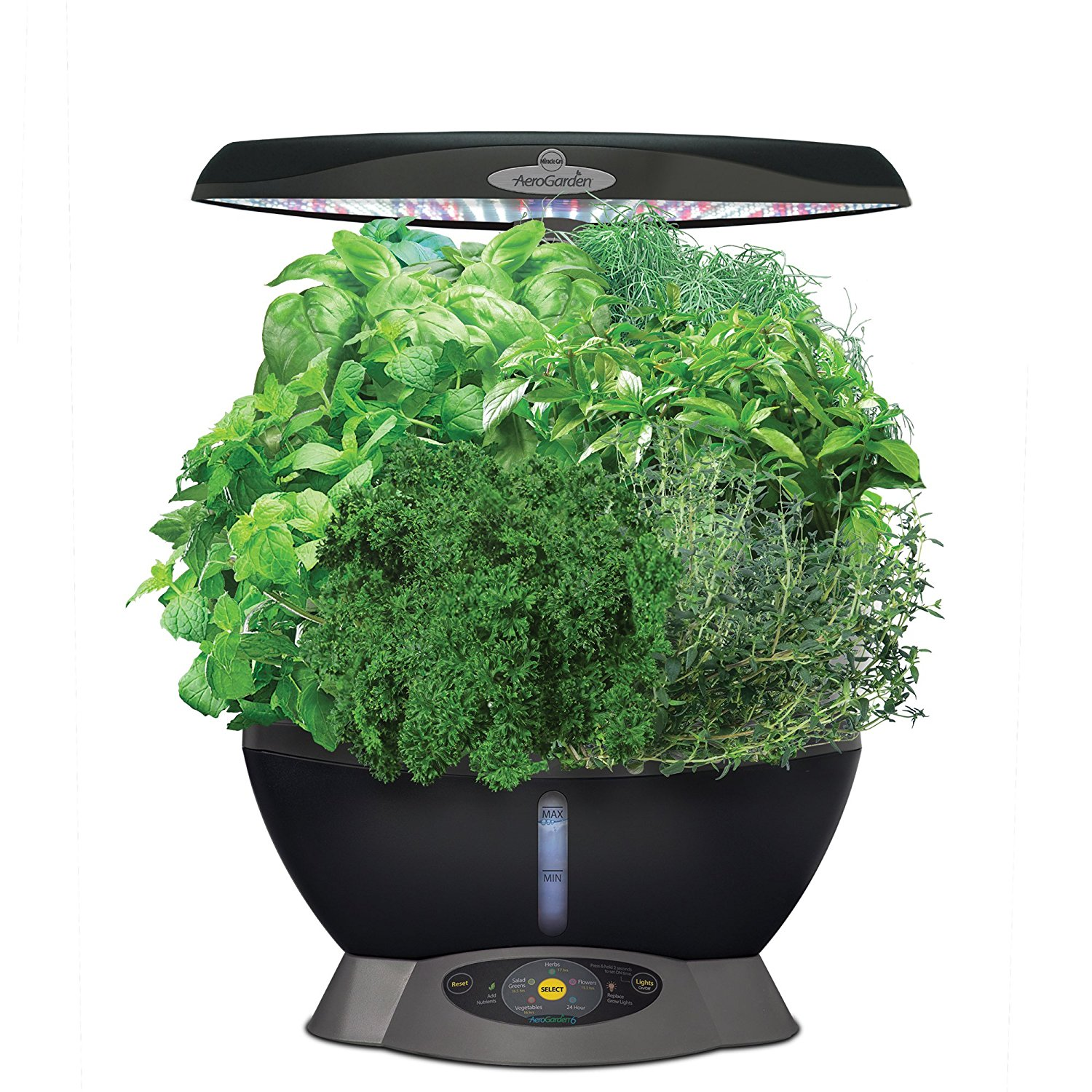 10. AeroGrow Classic 6 with Gourmet Herb Seed Pod Kit