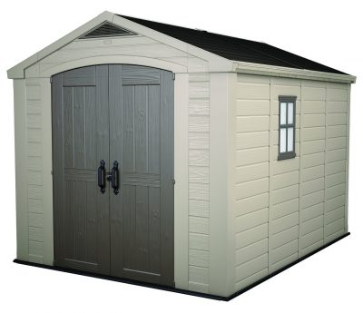 2. Keter Factor Storage Shed