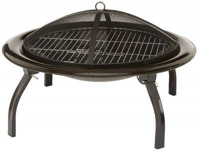 9. Portable Folding 26-Inch Fire Pit