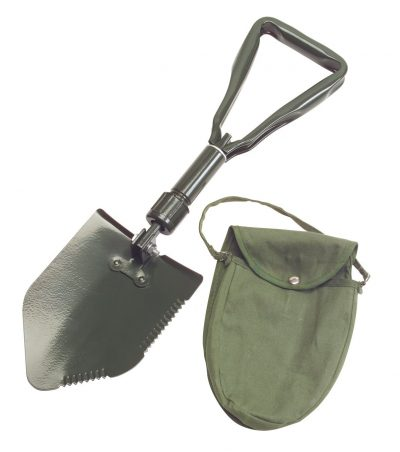 2. TEKTON Folding Survival and Camping Shovel