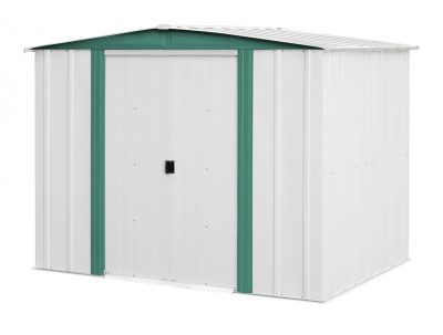 4. Arrow Sheds HM86 Hamlet Steel Storage Shed