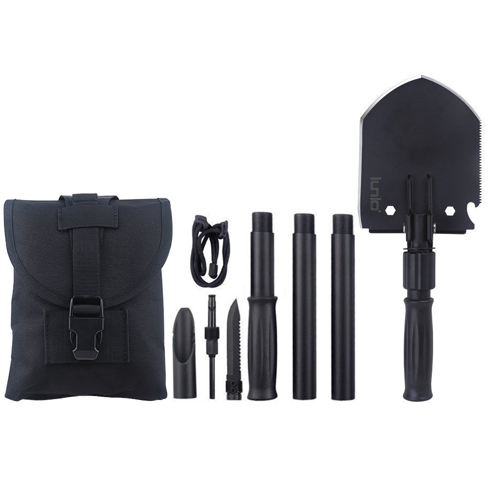 3. Iunio Military Portable Folding Shovel