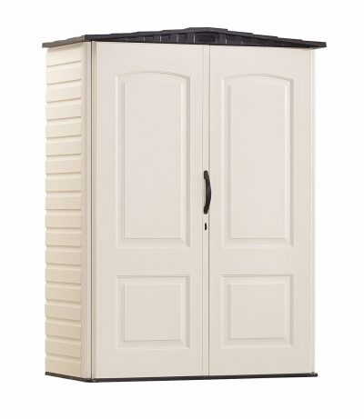 7. Rubbermaid Plastic Small Outdoor Storage Shed