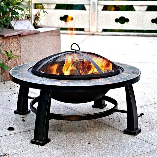 3. Fire Pit Table