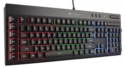 10. CORSAIR K55 RG Gaming Keyboard