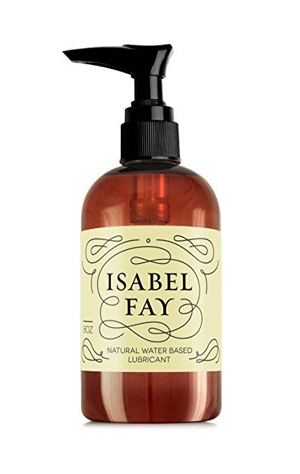 5. Isabel Fay Natural Personal Lubricant