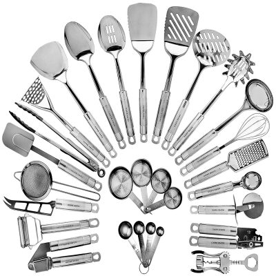 6. HomeHero 29 Cooking Utensils Kitchen Utensil Set