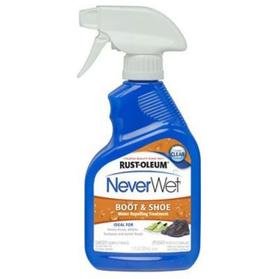 8. Rust-Oleum Never Wet Boot and Shoe Spray (280886) - Best Best Waterproof Sprays for Shoes