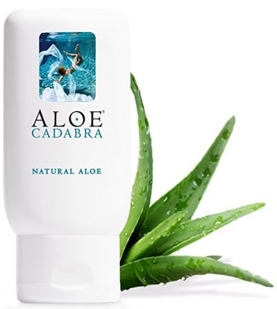 8. Aloe Cadabra 2.5 Ounce Natural Personal Lubricant