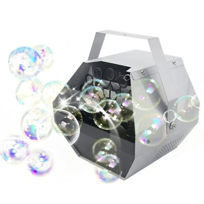 2. CO-Z Portable Automatic Bubble Machine