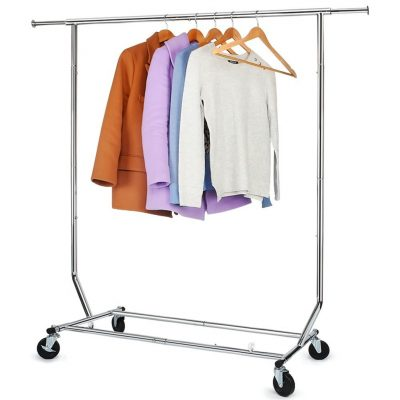 1. Hokeeper Commercial Grade Clothing Garment Racks