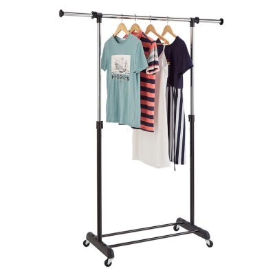 2. RichStar Rolling Clothes Rack
